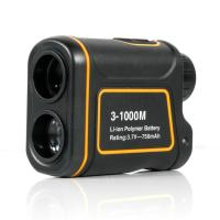 Portable 8X 24mm 3-1000m Laser Range Finder Distance Meter Telescope for Golf, Hunting , Outdoor Activity and ect.
