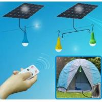 Buy cheap Free power with solar lamps 3W LED bulbs with lithium battery, remote functions from wholesalers