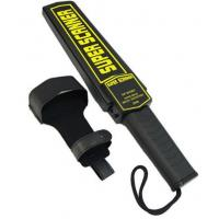 China Hand Held Body Metal Detectors Light / Voice Alarm Essensive Metal For Goverment on sale