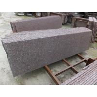 Wholesale Chinese Granite Stone Sanxia Red Granite Small Slabs For Outdoor Decoration from china suppliers