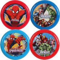 Wholesale 9 Inch Funny Gift Plastic Flying Disc With Super Hero For Promotional from china suppliers