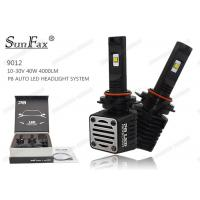 Wholesale DC10 - 30V 40W Automotive LED Headlights H4 4000LM 6000k IP68 For Trucks from china suppliers