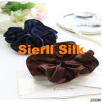 China silk hair Scrunchy,new design 19mm /22momme silk scrunchie for sale