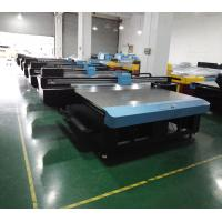 Flatbed CMYK + W UV Direct Printing Inkjet Printing Equipments Max 100MM Print Height