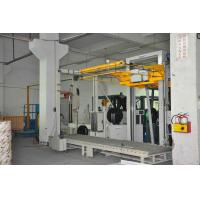 China Automatic Packaging Vertical Pallet Strapping Machine PP/ PET Strap Material on sale