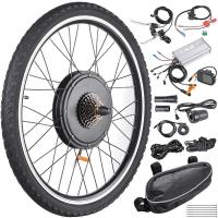 Buy cheap 48V 1000W 26 Inch Rear Wheel Electric Bicycle  Motor Kit E-Bike Conversion from Wholesalers