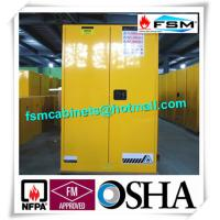 Wholesale Durable Metal Flammable Liquid Storage Containers 45 GAL With Double Layer from china suppliers
