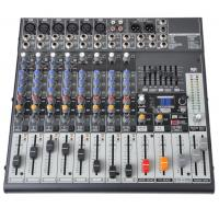 China 12 Channel Professional Audio Mixer  Audio Stage Mixing Console  X1222USB on sale