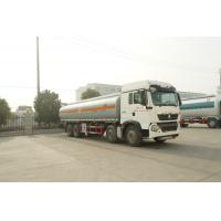 China Sinotruk HOWO Diesel Fuel Tank Semi Trailer Perfect Driving Performance for sale