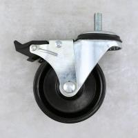 Wholesale Industrial	High Temperature Casters / Stem Heavy Duty Swivel Wheels 75 MM from china suppliers