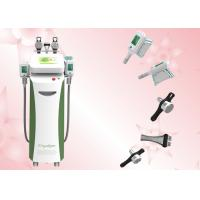 China 5 cryo handles Germany Copper Radiator RF cavitation Cryolipolysis slimming beauty machine For weight loss for sale