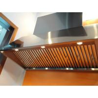 Wholesale Stainless Steel Baffle Filters 1.00mm , Residential Range Hoods from china suppliers