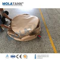 Wholesale Molatank PVC TPU Collapsible Bladder Inflatable Water Storage Tanks , High Strength Coated Fabric from china suppliers