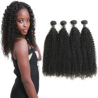 Wholesale Authentic Real Curly Human Hair Weave Bundles Without Chemical Processed from china suppliers