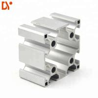 Wholesale V Slot Structure Aluminium Extruded Sections , Customized Extruded Aluminum Profiles from china suppliers
