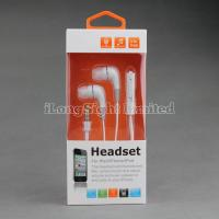 Quality Colorful  Earphone For iPhone 5 With Volume Control And Mic for sale