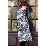 China Bilemi boys parka hooded fashion designer handsome children down coat kids winter jacket for sale