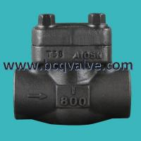 Wholesale Forged Stainless Steel Flange Butt Welded LIFT Check Valve pn16 from china suppliers