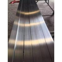 Wholesale 316L Stainless Steel Flat Bar Brush Finished ASTM A276 SS Flat Plate Stright from china suppliers