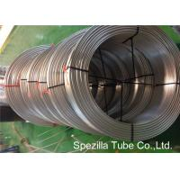 China TP316L Annealed Stainless Steel Coiled Tubing Seamless ASTM A269 OD 1/4'' X 0.035'' on sale