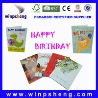 Wholesale happy birthday cards from china suppliers