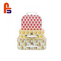 China Baby Fancy  28*18*8cm Or Personalized Size With Handle Cardboard Suitcase Box for sale