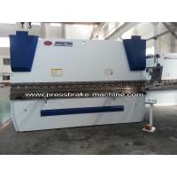 Buy cheap 125 Ton Electro CNC Hydraulic Press Brake Machinery Delem Control from Wholesalers