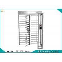 Quality High Security Full Height Turnstiles,  Single Lane Access Control System Turnstile for sale