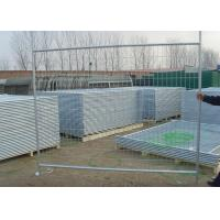 China Galvanized 42 Microns Temporary Fence Panels / Construction Site Fence Panels on sale