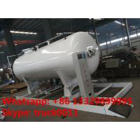 Wholesale ASME 8m3 skid propane gas refilling plant for sale, hot sale 4MT skid mounted lpg gas tank for gas bottles cylinders from china suppliers