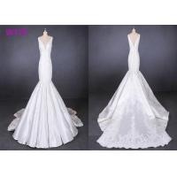 Wholesale Straps satin mermaid wedding dresses bridal gowns customize made 2019 from china suppliers