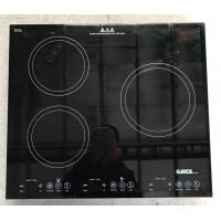 Wholesale High Grade 3 Burner Induction Cooktop , 30 Inch Electric Cooktop Sensor Touch Type from china suppliers