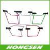 Bike display rack with steel material rod bike parking rack for sale