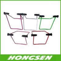 U shape stainless steel material bicycle parking rack for sale