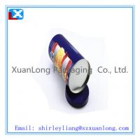 Wholesale Large size round tea tin can wholesale from china suppliers