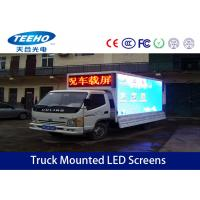 Wholesale P10 IP65 Truck Mounted LED Screens , Full Color Outdoor Advertising Led Display from china suppliers