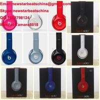 Wholesale HOT!!!New black/white/red/blue/pink/gary beats solo 2 v2 headphone by dr dre from china suppliers