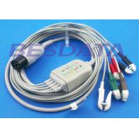 Wholesale LL Universal One Piece ECG Cables And Leadwires 5 Lead 6 Pin Generic Clip Electrodes from china suppliers