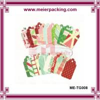 Wholesale Colored printing t-shirt hangtag, Baby clothing color hang tags for sale ME-TG008 from china suppliers
