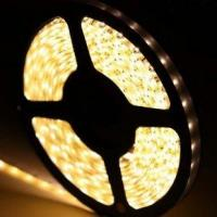 Wholesale DC12V 120 Leds 9.6W 3528 SMD LED Strip 3000K - 4000K Warm White  IP67 Waterproof from china suppliers
