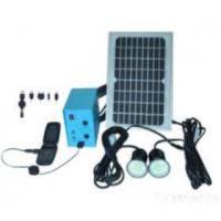 China Solar Led Bulbs Lighting System For House With Mobile Recharge on sale