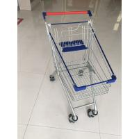 Wholesale Steel Supermarket Shopping Carts With Safety Anti-UV plastic parts from china suppliers