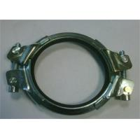 Wholesale Galvanized Heavy Duty Pipe Welding Clamps Mounting Bracket 0.8mm-2.0mm Thickness from china suppliers