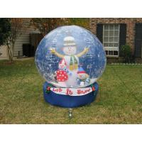 Outdoor transparent beautiful giant advertising for Outdoor christmas globes