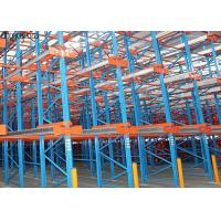 China High Capacity Drive In Pallet Racking For Industrial Equipment Garage on sale