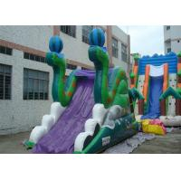 Wholesale 20 Foot Outdoor The Hulk Commercial Inflatable Slide With Double Sides from china suppliers
