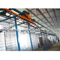 Quality Eco Friendly Wire Fence Making Machines , PVC Wire Coating Machine Various Colors for sale