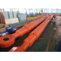 Wholesale Carbon Steel Heavy Duty Hydraulic Cylinder Deep Hole Radial Gate 620mm Rod 340mm from china suppliers