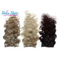 Wholesale 32 Inch / 34 Inch Clip In Hair Extension Brazilian Virgin Unprocessed Remy Human Hair Weave from china suppliers