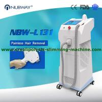 Buy cheap CE approval OEM NUBWAY best selling painless 600W 808nm diode laser hair removal machine for salon from wholesalers